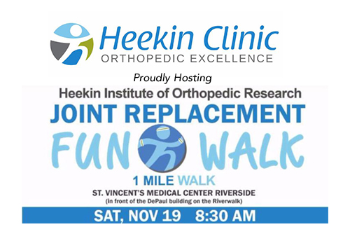 Heekin Institute of Orthopedic Research Joint Walk